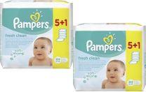 Pampers Billendoekjes Babydoekjes Fresh Clean  12 x 64 Stuks