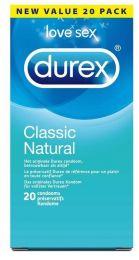 Durex Condooms Classic Natural 20 Stuks