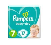Pampers Baby Dry Maat 7 - 17 Luiers