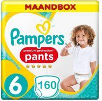 Pampers Premium Protection Pants Maat 6 - 160 Luierbroekjes Maandbox