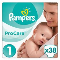 Pampers Procare Premium Protection Maat 1- 38 Luiers