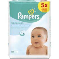 Pampers Babydoekjes Fresh Clean 5x64 Stuks