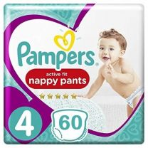 Pampers Active Fit  Pants Maat 4 - 60 Luierbroekjes