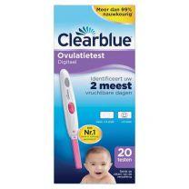 Clearblue Ovulatietest Digitaal -  20 stuks
