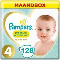 Pampers Premium Protection Maat 4 - 128 Luiers