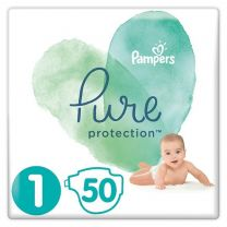 Pampers Pure Protection Maat 1 - 50 Luiers