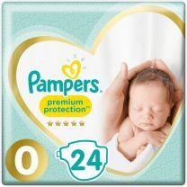 Pampers Premium Protection Maat 0 - 24 Luiers