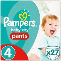 Pampers Baby Dry Pants Maat 4 - 27 Luierbroekjes