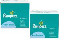 Pampers Babydoekjes Fresh Clean 10x64 Stuks