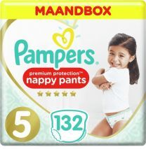 Pampers Premium Protection Pants Luierbroekjes Maat 5 - 132 stuks Maandbox