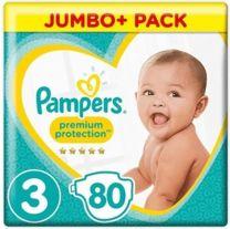 Pampers Premium Protection Maat 3 - 80 Luiers