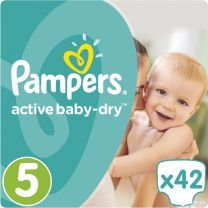 Pampers Active Baby Dry Maat 5 - 42 Luiers