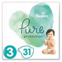Pampers Pure Protection Maat 3 - 31 Luiers