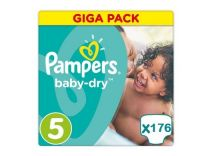 Pampers Active Baby Dry Maat 5 - 176 Luiers Maandbox