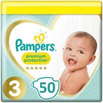 Pampers Premium Protection Luiers Maat 3 50 Luiers