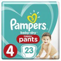 Pampers Baby-Dry Pants Maat 4 - 23 Stuks