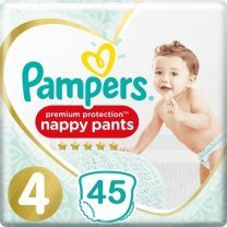 Pampers Premium Protection Pants Maat 4 - 45 Luierbroekjes