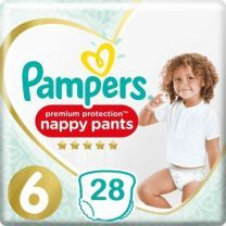 Pampers Premium Protection Pants Maat 6 - 28 Luierbroekjes