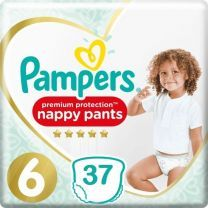 Pampers Premium Protection Pants Maat 6 - 37 Luierbroekjes