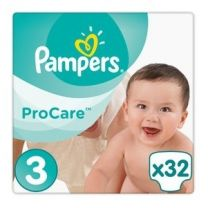 Pampers Procare Premium Protection Maat 3 - 32 Luiers
