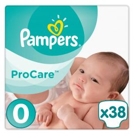 Pampers Procare Premium Protection Maat 0 - 38 Luiers