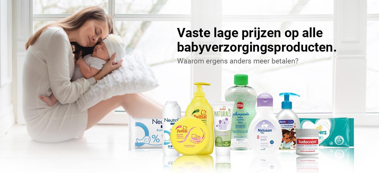 aanbiedingen babyverzorging